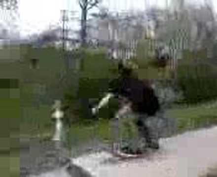 skateboard up ass