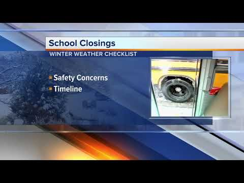 Winter weather: How schools make the snow day call