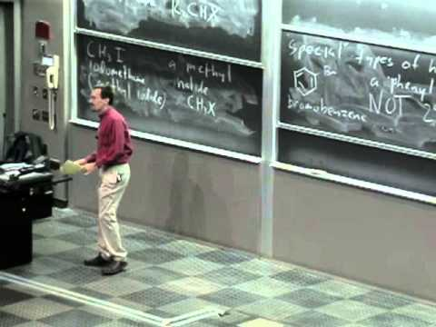 Organic Chemistry 51A. Lecture 21. Introduction to Alkyl Halides and Nuceophilic Substitution.