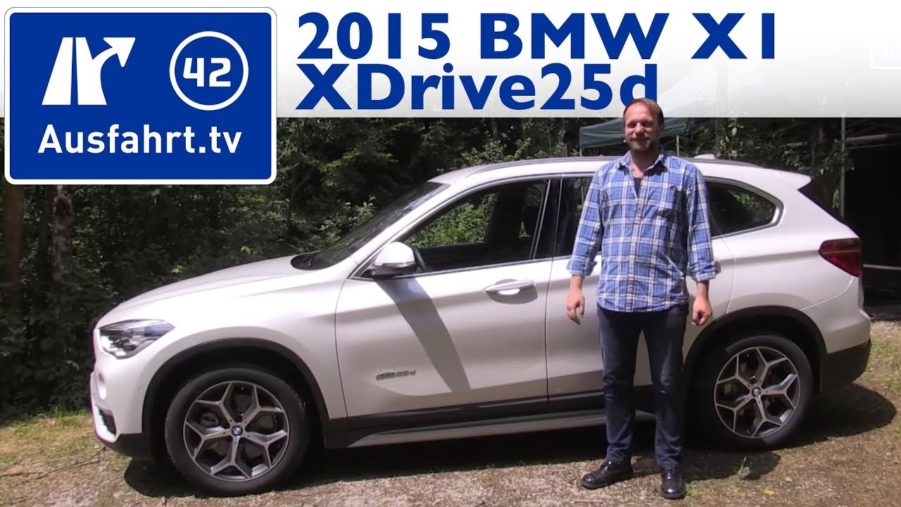 2015 bmw x1 xdrive25d f48 kaufberatung test review youtube. Black Bedroom Furniture Sets. Home Design Ideas