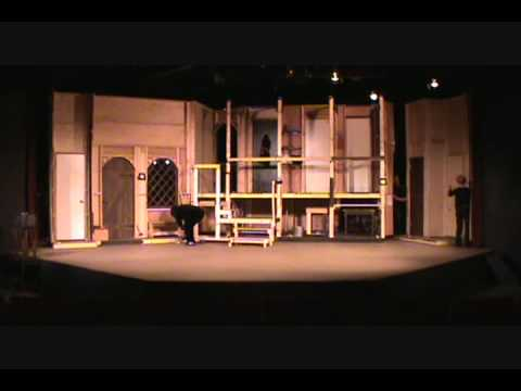 Noises Off --Set Change - YouTube