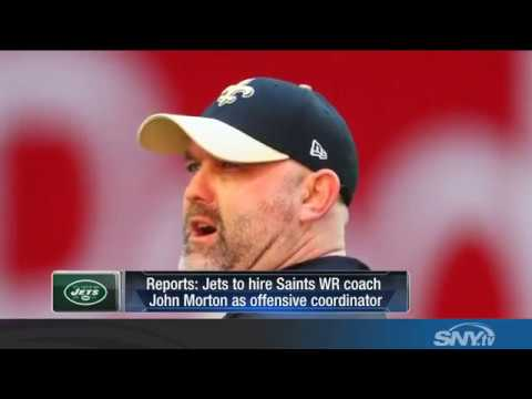 Reports: Jets hire John Morton as new offensive coordinator
