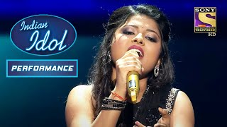 Download Arunita का 'Aao Tumhen Chaand' पर एक सुरीला Performance   Indian Idol Season 12