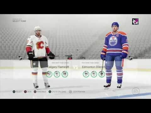 NHL 17 Calgary Flames Franchise Mode 13 | REMATCH TIME!!!