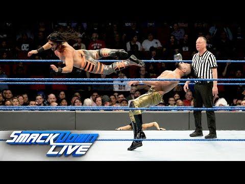 "Mustafa Ali vs. Andrade ""Cien"" Almas: SmackDown LIVE, Dec. 25, 2018"