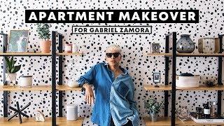 Apartment Makeover For Gabriel Zamora   Diy Dalmatian Wall // Lone Fox