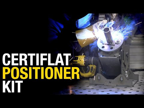 CertiFlat DIY Weld Positioner Kit: Metal Fabrication Must-Have - Eastwood