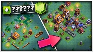 GEMMING TO MAX!!   Clash Of Clans Builders Base
