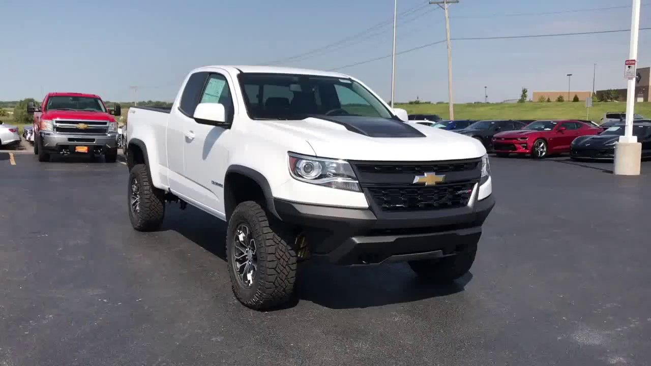 new for 2018 chevy colorado zr2 exterior video ron westphal chevrolet youtube. Black Bedroom Furniture Sets. Home Design Ideas