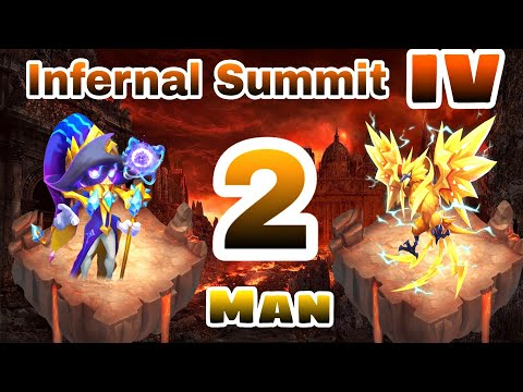 Infernal Summit IV | Cosmo | 2 Man |  Winning Set Up | Full Detail | Castle Clash