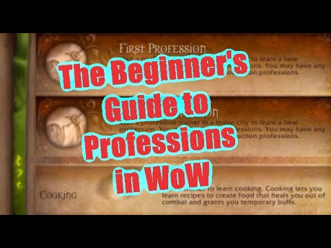 How to get Professions in WoW and make Gold