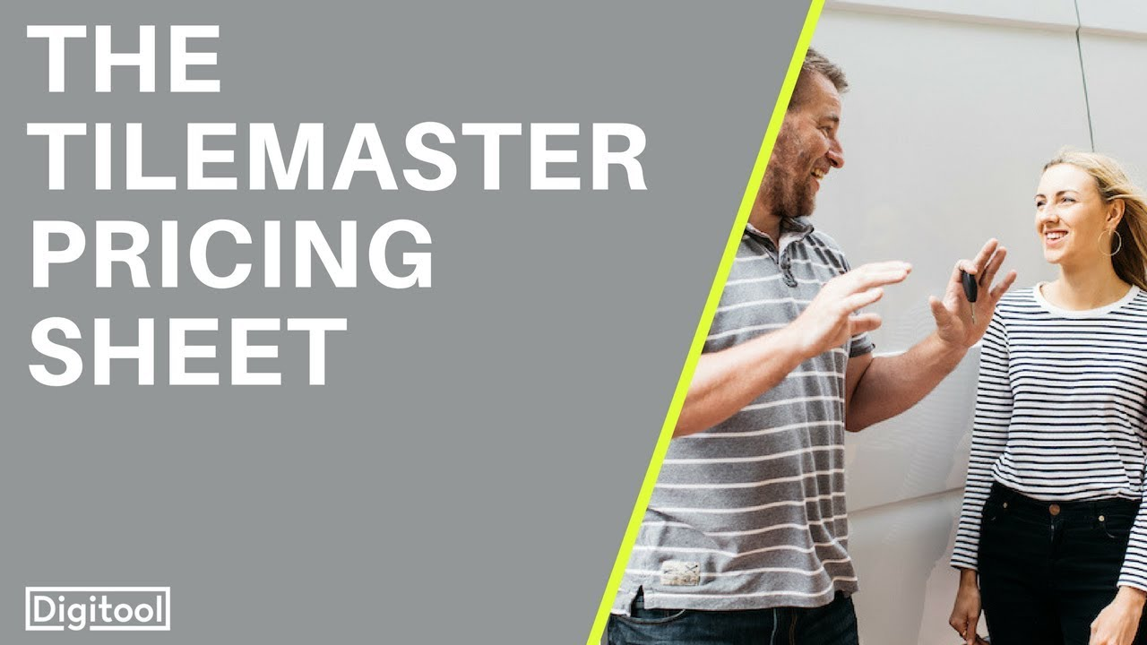 The tile master pricing sheet youtube the tile master pricing sheet shiifo