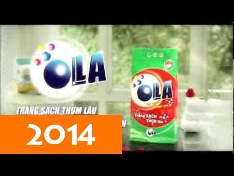 Quảng cáo bột giặt sinh học OLLA hài hước mới nhất 2014