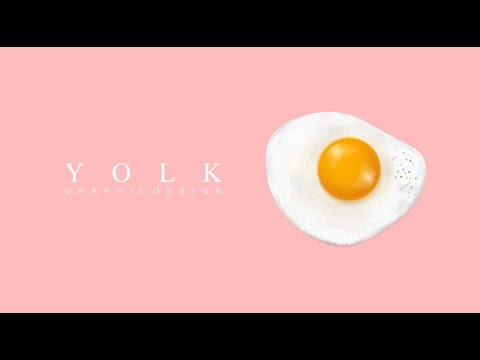 Graphic Design | Adobe Photoshop Tutorial | Realistic Yolk