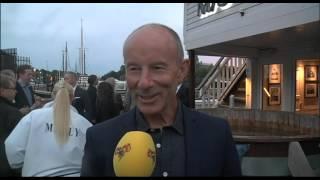 Ingemar Stenmark på Jan-Ove Waldners 50-årsfest