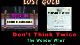 The Wonder Who - Don