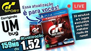 Atualização 1.52 - LIVE (GT Sport)