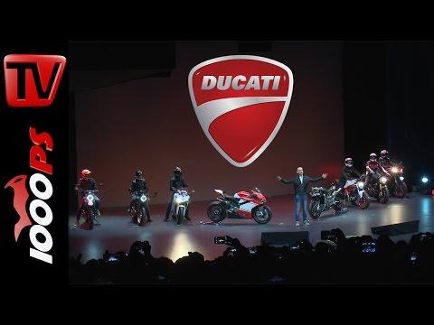 Ducati Weltpremiere 2017 | 1299 Superleggera, Monster 797 |EICMA 2016