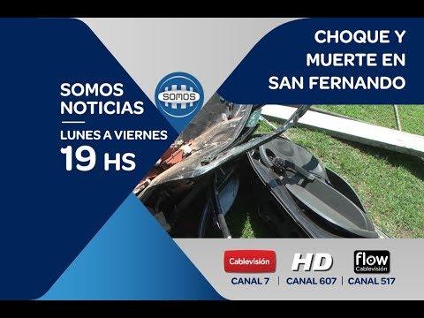 CHOQUE Y MUERTE EN SAN FERNANDO