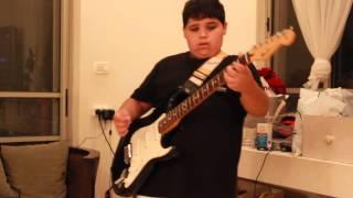 alive pearl jam guitar cover by ofri horen