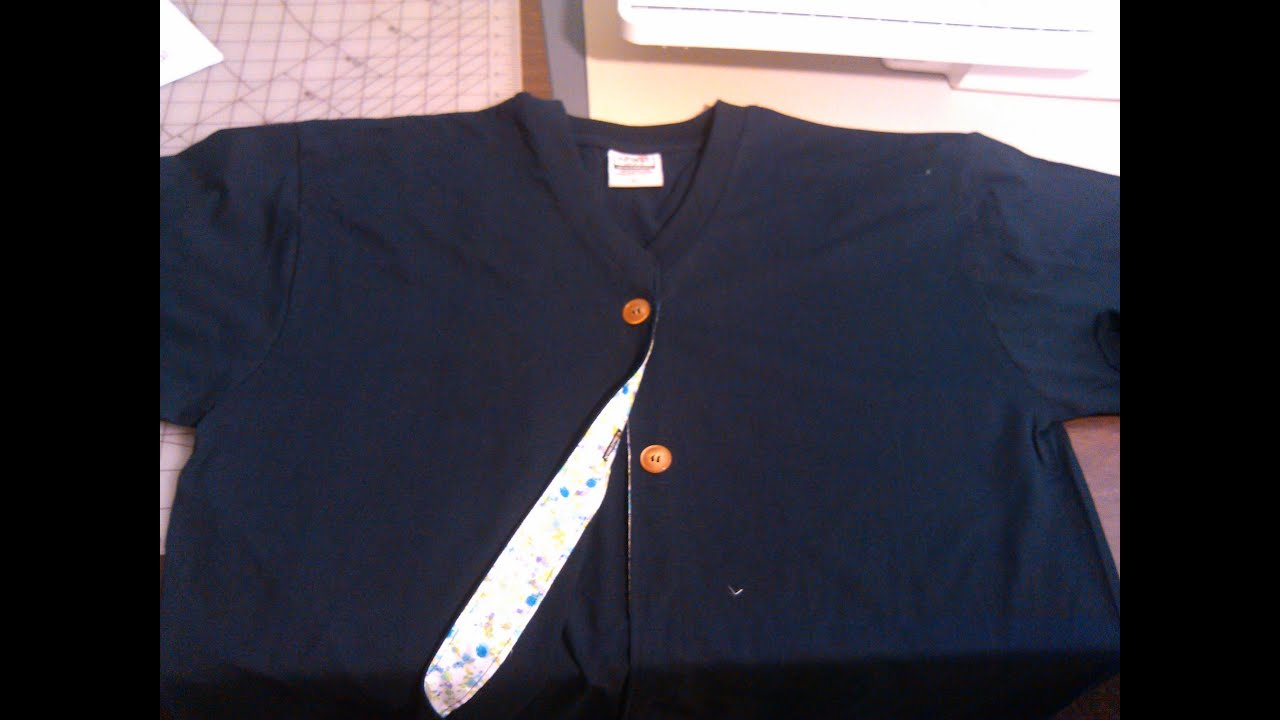 Easy to sew, turn any sweat shirt, t-shirt or pull over ...