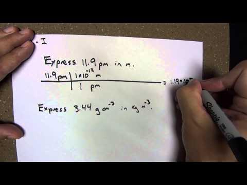 Module 3: International System of Units, Prefixes - Introduction