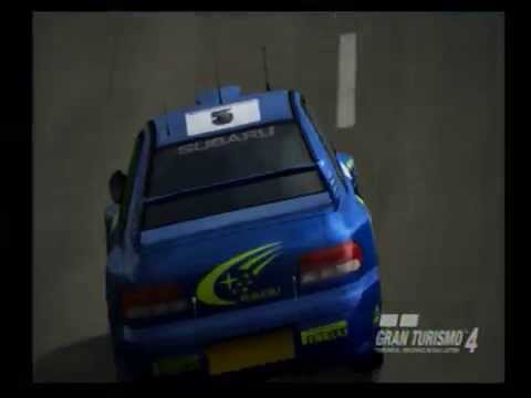 Gt4 Replay Subaru Impreza Rally Car 99 Youtube