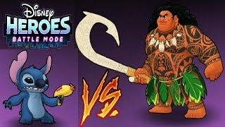 Disney Heroes Battle Mode игра мультфильм #6 ГЕРОИ ДИСНЕЯ Боевой Режим #Мобильныеигры
