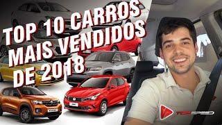 Top 10 Carros Mais Vendidos Em 2018
