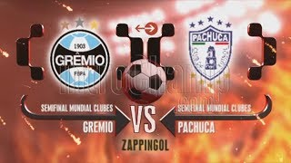 GRÊMIO VS PACHUCA, SEMIFINAL MUNDIAL DE CLUBES 2017, PES 2018, REAL TV 1080 HD 60 FPS, LEVEL LEYENDA