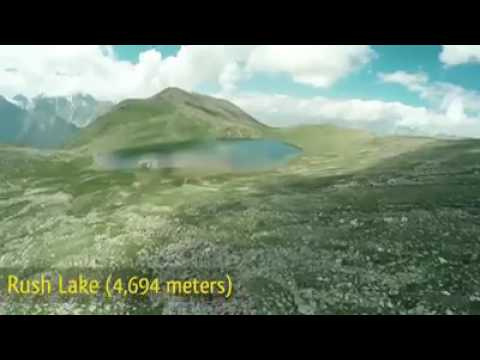 Rush lake .. .. PAKISTAN's Highest Lake