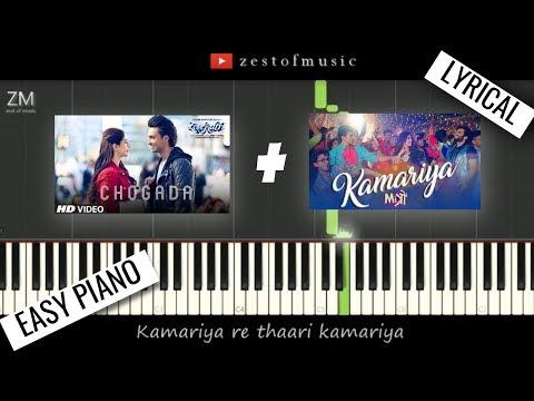 Chogada + Kamariya (with Lyrics)   Darshan Raval   Piano Tutorial   Zest Of Music