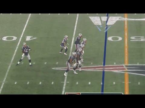 Tom Brady Gets Rushed By Nobody Vs Titans