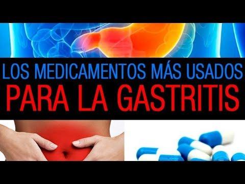 medicacion para gastritis nerviosa