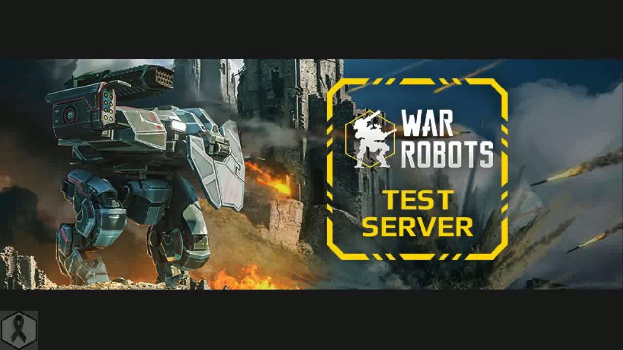 War robots test server 2 9 224 new robots new machine gun prototype 2017 04 01 part 1 android