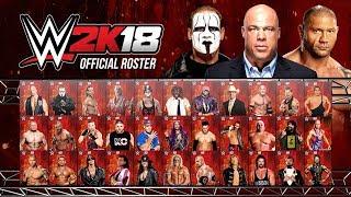 WWE 2K18 Roster All Confirmed Superstars So Far 2 (WWE 2K18 News)