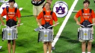 Auburn University Marching Band performs at the 2016 Band-o-Rama.