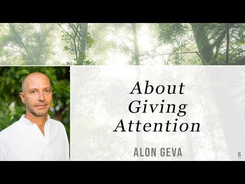 Alon Geva - About Giving Attention #6