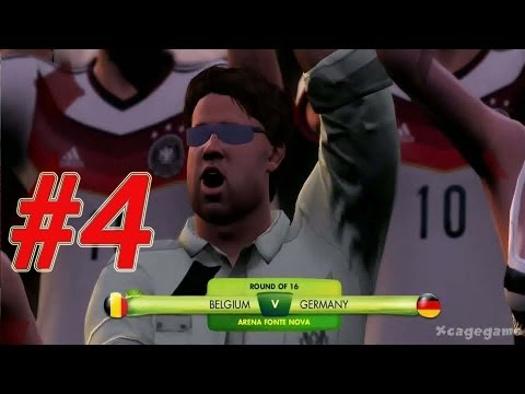 2014 FIFA World Cup - Walkthrough Gameplay Part 4 - Round Of 16  -  Belgium - Germany  [ HD ]