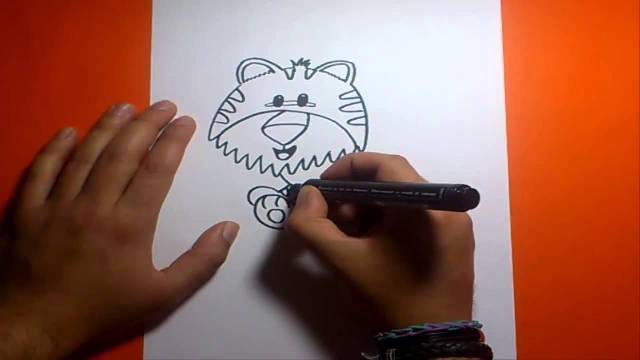 Como Dibujar Un Tigre Paso A 2