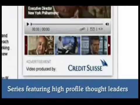 MPG International (Havas Media) - Credit Suisse reel  - 2008