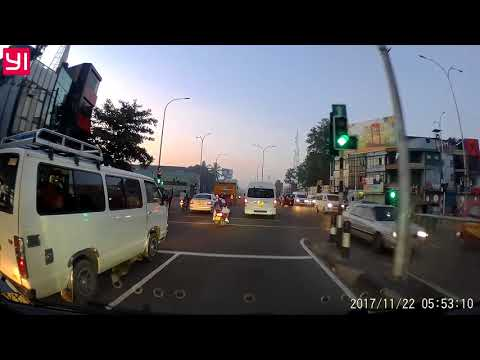 Traffic violations Sri Lanka wpUU-9961 School Girl Lady Drive