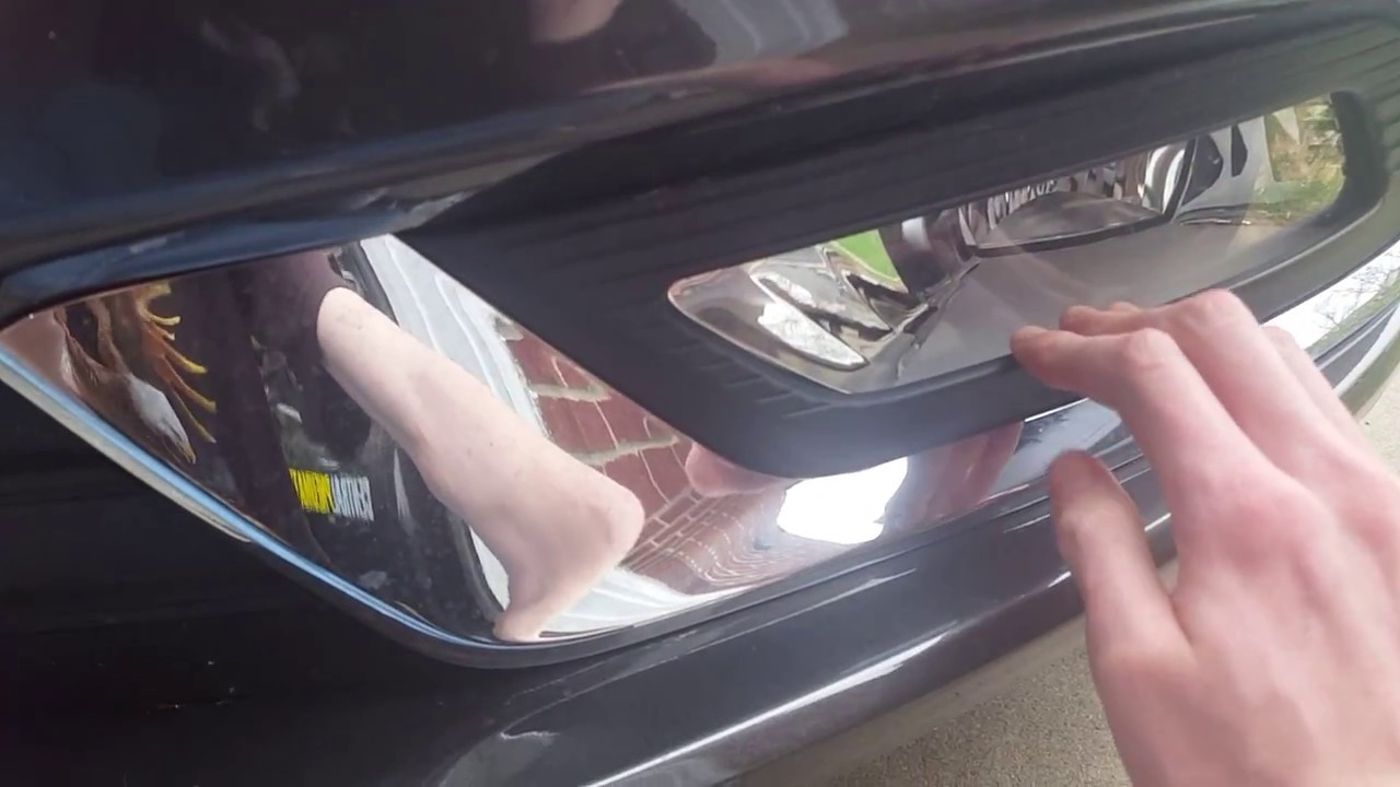 How To Replace The Fog Light On A 2017 Ford Fusion