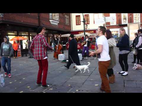 street Live Irish music