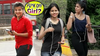 Hot Girl Saying: Aukat me raho | prank gone wrong | public prank | best prank in India | {BR bhai}