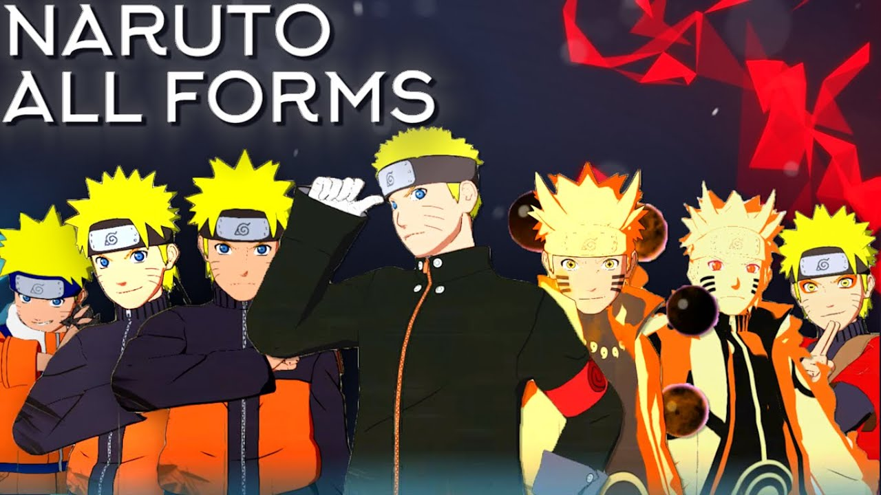 Naruto Moveset All 8 Forms+Combo+Awakening[Showcase ...