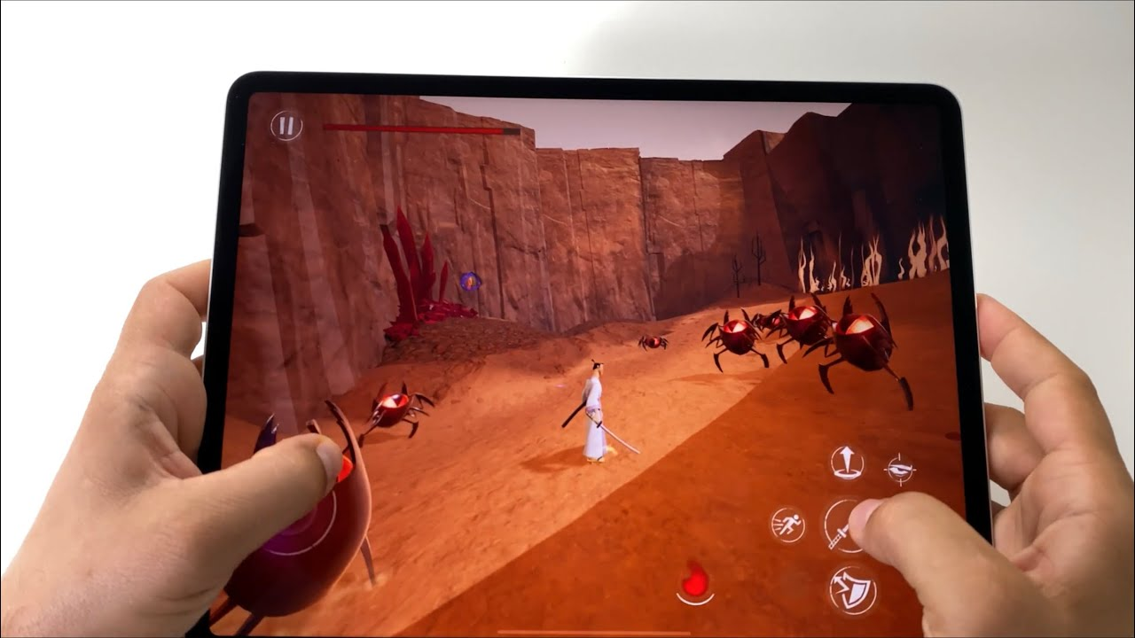 Samurai Jack for iOS | 1TB iPad Pro 2020 4th gen 12.9-inch - handheld gameplay - YouTube