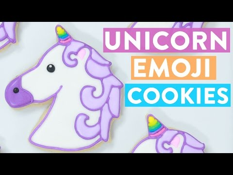 Thumbnail: UNICORN EMOJI COOKIES ft Lilly Singh - NERDY NUMMIES