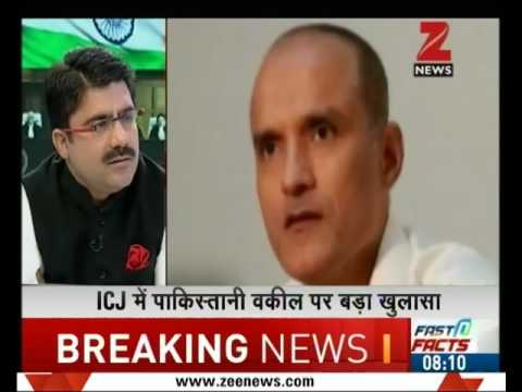What is the connection between Congress and lawyer representing Pak in Kulbhushan Jadhav case?