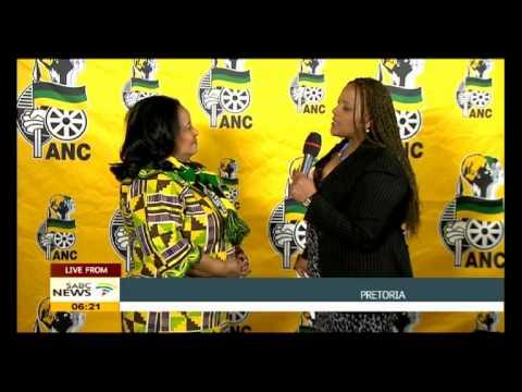 Edna Molewa on ANCWL conference